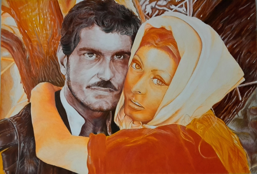 Omar Sharif by Fema